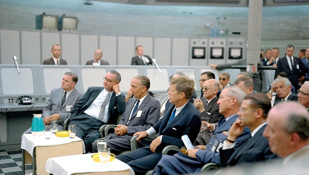 Prezident John Fitzgerald Kennedy, na kterého byl spáchán atentát.