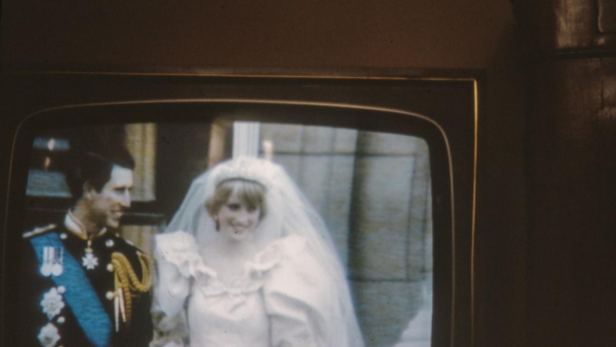Princezna Diana na jednom z historických snímků.