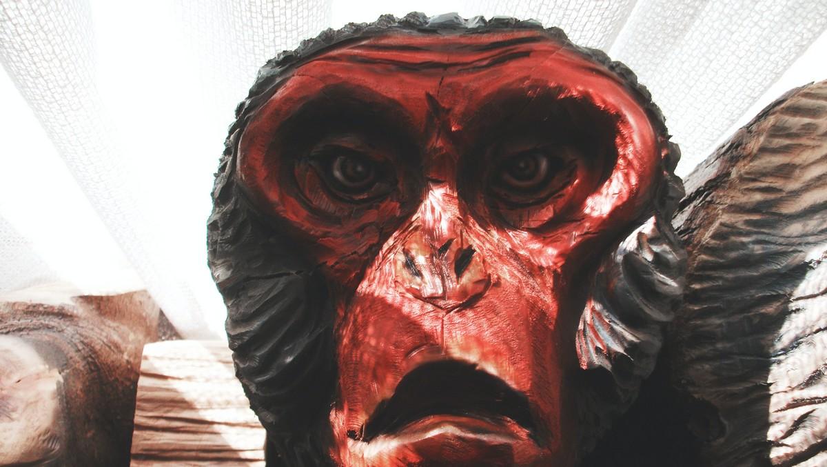 Vymyšlená podobizna tvora zvaného Yetti.