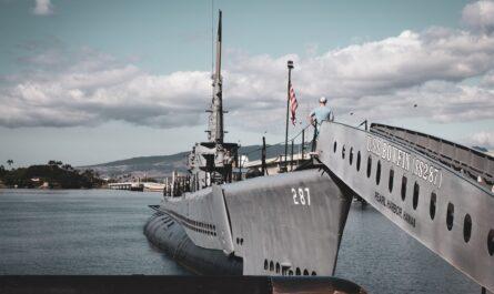 Námořní základna, ve které proběhl útok na Pearl Harbor.
