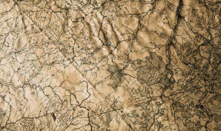 Mapa, na které je vyznačena Zelená transverzála.